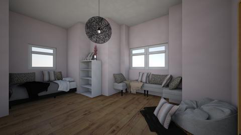 Hygge Childrens Room - Feminine - Kids room - by SwiftLyDesigns