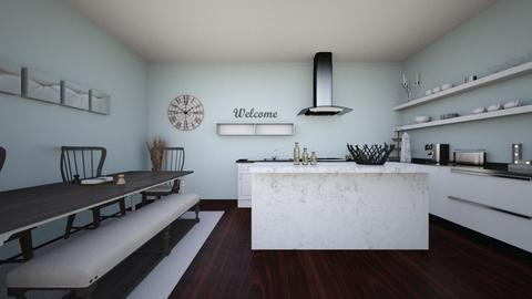 Sophisticated Cooking - Minimal - Kitchen  - by krkolar