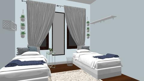 julias room - Minimal - Bedroom  - by ntellez