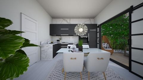 Renovated 1st Floor - Minimal - Kitchen  - by ShadySkills13