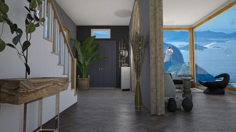 contemporary hallway - Modern - by moomusr