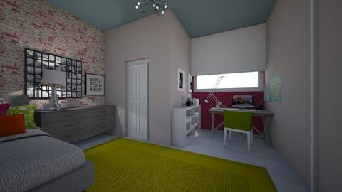 II big room - Bedroom - by bettamarchegiano