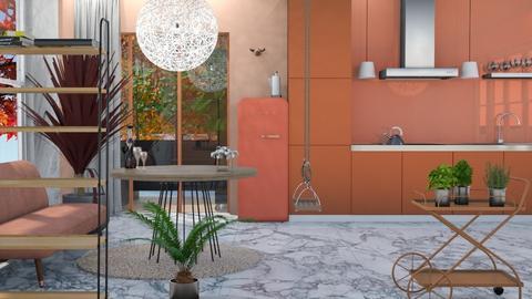 Autumn kitchen - Kitchen  - by gwenellen
