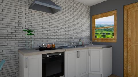 Terrace Kitchen - Kitchen  - by KylaTH