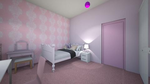 bubblegum room - Bedroom  - by AnnaSz2009