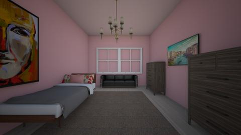 Andy Room - Classic - Bedroom  - by Andrea Sofia Mendez