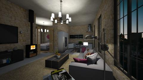 Fabric 2 - Living room  - by nanabpf