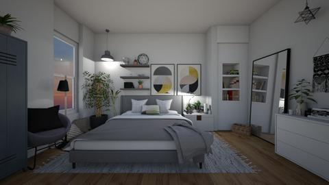 quarto solteiro - Bedroom - by diegobbf