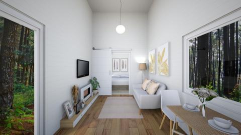 Living_Minimalist Tiny - Minimal - Living room  - by deleted_1599664823_fatihafitra