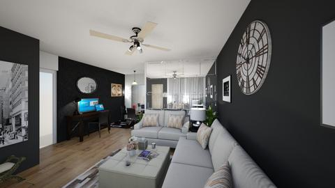 after 5 years LRM 1AA4 - Living room - by zainab alkaram