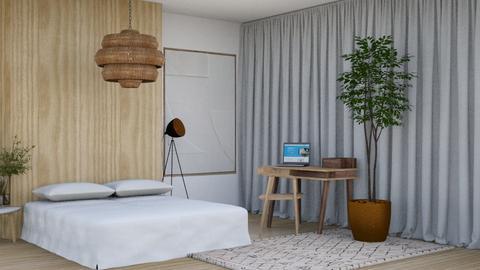 Minimalist_2 - Bedroom  - by KittyKat28
