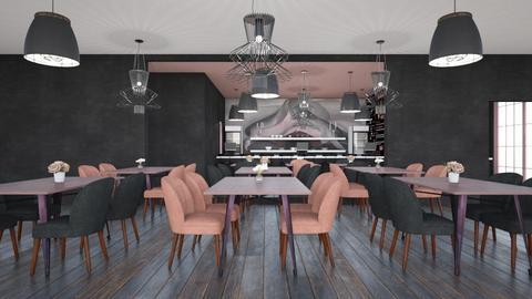pink or grey  - by mollysamuel