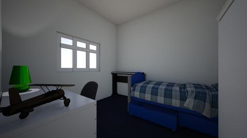 My own bedroom Not exact - Bedroom  - by JAZZ_FRANTICS
