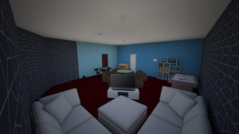 Youth Suite - Modern - Living room  - by Hridz1