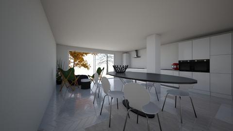 uitbouw_Iris3 - Kitchen  - by florisvd