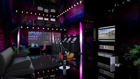 Loft Gaming Room - by chillycrush