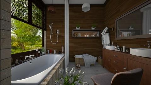 M_Carved - Bathroom  - by milyca8