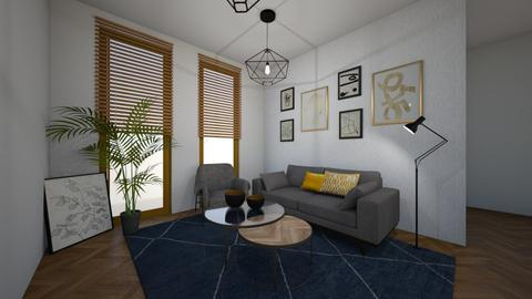 1 Gold - Living room - by paulienvb