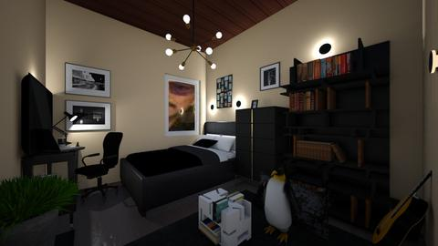 personal cottage homie - Minimal - Bedroom  - by lazystillbusy