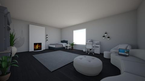 Chill bedroom - Modern - Bedroom  - by I am amazing