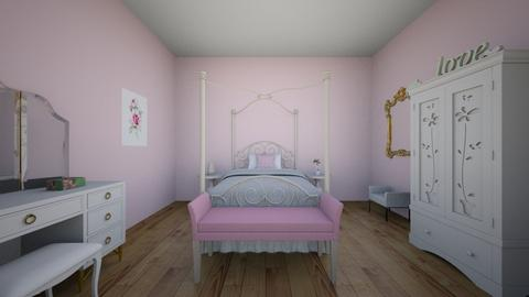 shabby chic bedroom - Bedroom - by Norah Paxton