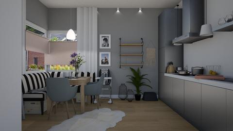 JJKxED - Kitchen  - by Eleonor Debus