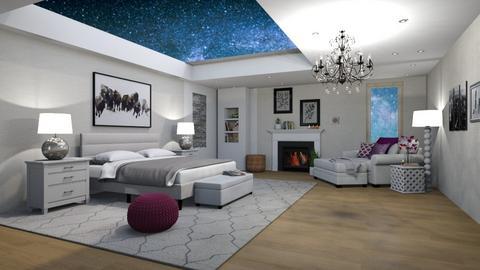 Night  - Bedroom  - by Martina0205