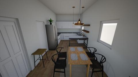 Kitchen and Dining - Retro - Kitchen  - by tiffanypham29
