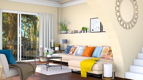 Twisted Living - Living room  - by lyrikkah
