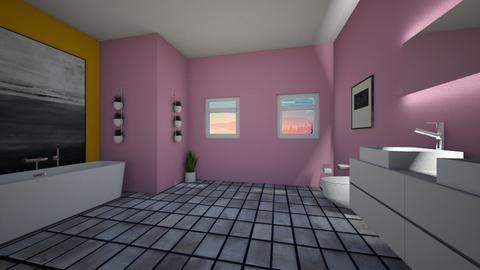 Style bathroom - Bathroom  - by RosieDraws