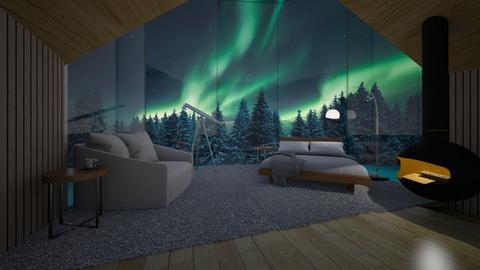 Northern Lights  - Bedroom  - by heyfeyt