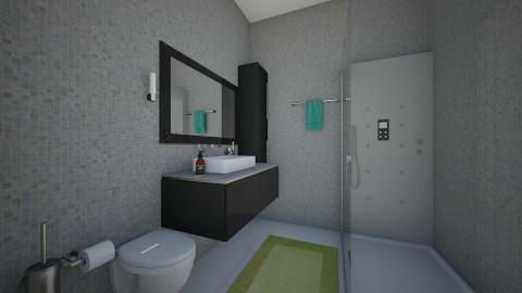 husbn - Bathroom  - by emiragiba