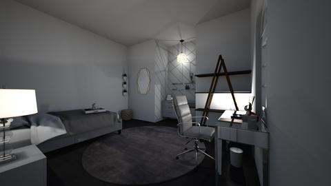 teen room - Modern - Bedroom  - by latham