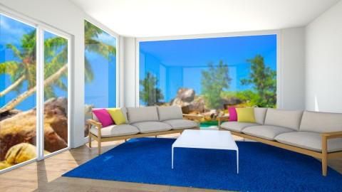 Vacation home - Living room - by Lori Hallman Douglas_763