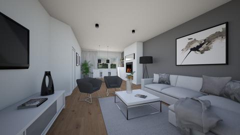 MilenaSkalik_modern_warm2 - Living room  - by mskalik