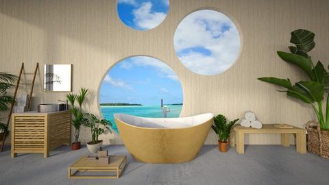 bathroom in belize - Bathroom  - by kt_2