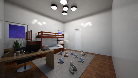 Kids Bedroom - by fuzzybunny