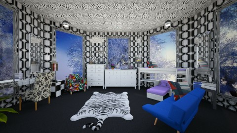 Boys Bedroom - Modern - Kids room - by irolnyll