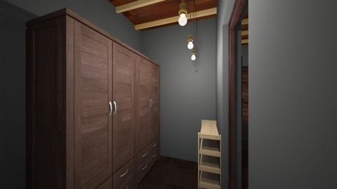 Luis Arellano 5 - Rustic - Bedroom  - by arellal20