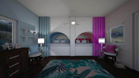 Twin Magic - Modern - Bedroom - by CreativeCreations