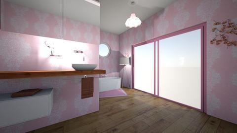 Cherry Blossom Bathroom - Bathroom  - by Blankaud