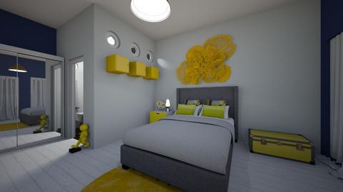 modernplayful - Bedroom - by MrsHenny