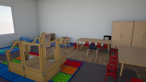 Panda Playtime - Kids room - by JFKGEUEXKBHPTFEBXBJKRPZXYNKXUGG