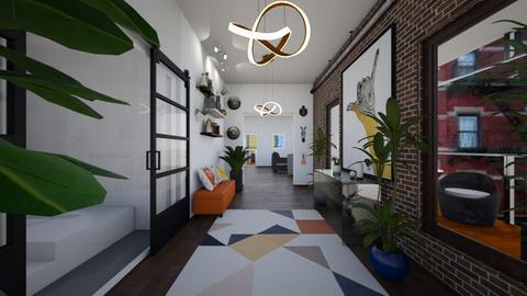 hallway - by jennasnavely98