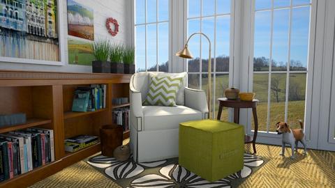 Apple Design - Bedroom - by amyskouson
