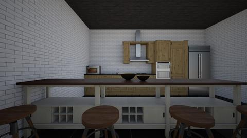 COCINA - Vintage - Kitchen  - by emiquintob