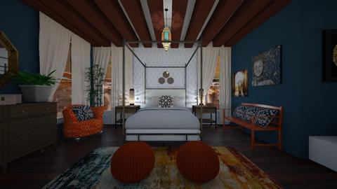 Bohemian Skies  - Eclectic - Bedroom  - by Shealyn Richardson