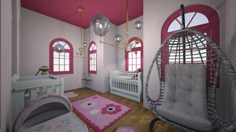 Roses room - Modern - Kids room  - by karissarocks101