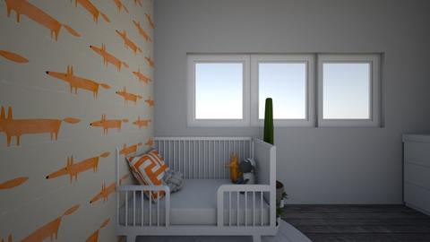 oh la la orange - Minimal - Kids room  - by homouse