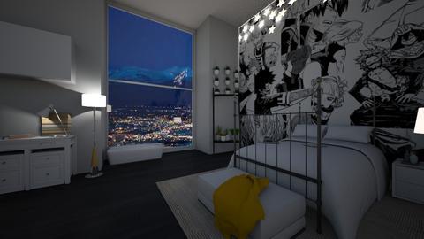 meu quarto - Modern - Bedroom  - by Camila_Chaos